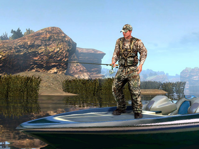 Cabela 39 s outdoor adventures 2010 pc video games for Cabelas fishing nets