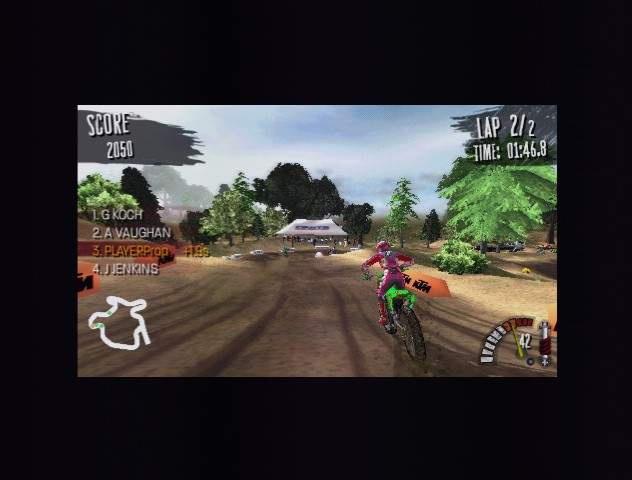 Wreck avoidance functionality in MX vs. ATV: Reflex