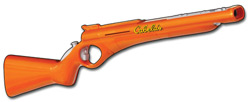 The Top Shot Wii peripheral included in the 'Cabela's Big Game Hunter 2010' Wii Bundle