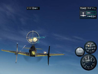 Dogfight action in The Sky Crawlers: Innocent Aces