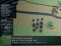 Pre-combat tactical briefing in The Sky Crawlers: Innocent Aces
