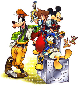 Characters from Kingdom Hearts Re:coded