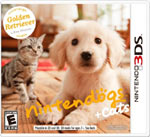Nintendogs + Cats: Golden Retriever and New Friends game box