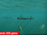 Sharp graphics of sub on sub battles from Steel Diver