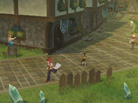 Running through the gameworld of Tales of the Abyss for 3DS
