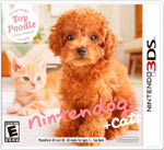 Nintendogs + Cats: Toy Poodle and New Friends game box
