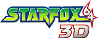 Star Fox 64 3D game logo