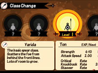 Patapon 3 character class change screen