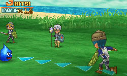 Battle screen from Dragon Quest IX: Sentinels of the Starry Sky