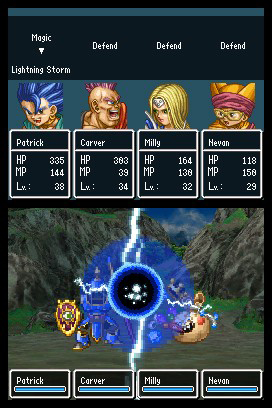 dragon quest 9 how to leave your team members