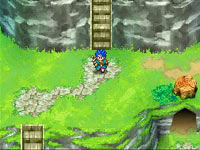 Improved dual screen graphics seen in Dragon Quest VI: Realms of Revelation