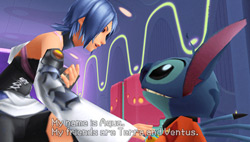 Aqua with Stitch