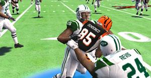 PSP Dynasty screen in Madden NFL 11
