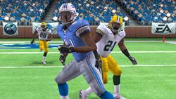 PSP Superstar Challenge mode screen from Madden NFL 11