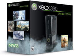 Xbox 360 'Modern Warfare 2' Limited Edition Console bundle boxshot