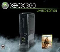 Xbox 360 'Modern Warfare 2' Limited Edition Console with game