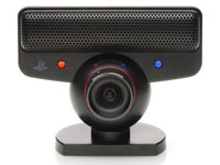 PlayStation Eye camera peripheral included in the PlayStation Move starter bundle