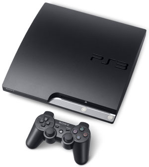 The PlayStation 3 250GB and included Dualshock 3 controller