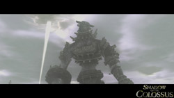One of the Colossi from Shadow of the Colossus