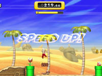 New Super Mario Bros. U Boost Mode in-game