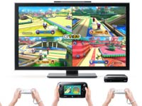 A demonstration of five player game support from Nintendo Land