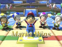 The use of Miis in an award ceremony in Nintendo Land