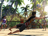 Multiplayer volleyball from Sports Champions