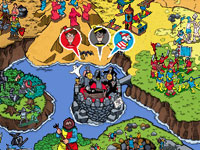 Interactive game environment from Where's Waldo?: The Fantastic Journey for DS and DSi