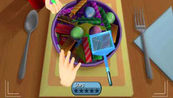 Food serving mini-game in iCarly for PC
