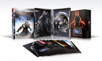 Contents of Star Wars The Force Unleashed: Ultimate Sith Edition for PlayStation 3