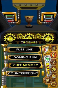 Trophy screen from TouchMaster 3
