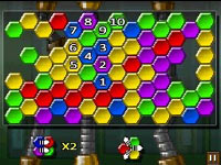 A hex gem matching game from TouchMaster 3
