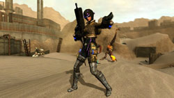 New playable character with weapon in 'Lost Planet: Extreme Condition - Colonies Edition'