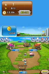 View of your farm in Farm Frenzy: Animal Country