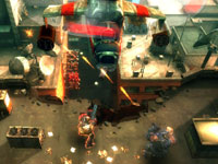 Concentrating fire on a hoovering helicopter in Army of Two: The 40th Day PSP