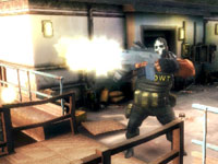 Weapons firepower in Army of Two: The 40th Day PSP