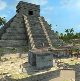A unique blend of old and new cultures seen through archetecture in Tropico 3