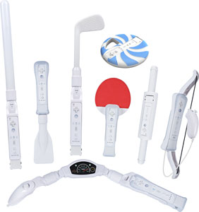 Eight Totally Unique Fun Accessories for Wii Sports Resort