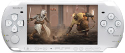 Assassin's Creed: Bloodlines played a PSP-3000. Both included in the PlayStation Portable 3000 Limited Edition Assassin's Creed: Bloodlines Entertainment Pack