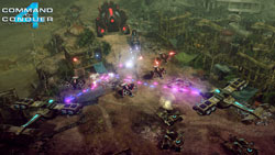 Multiplayer screen from Command & Conquer 4: Tiberian Twilight
