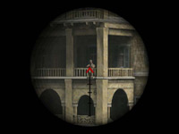 An enemy in your crosshairs in Marines: Modern Urban Combat