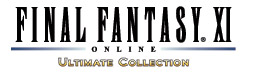 'FINAL FANTASY XI ULTIMATE COLLECTION' game logo