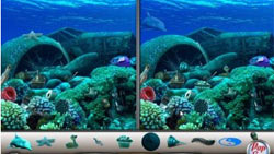 An underwater gameplay environment from Amazing Adventures: The Caribbean Secret