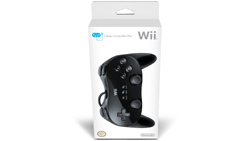 Black Wii Classic Controller Pro in box