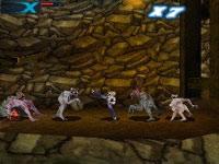 Daniel X taking on multiple enemies in Daniel X: The Ultimate Power