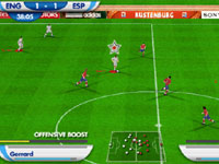 Using 2010 FIFA World Cup Golden Moments to gain a power boost on the pitch