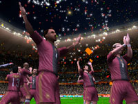 Spectacular PSP game presentation in 2010 FIFA World Cup