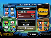 The Global Elimination Tournament in 2010 FIFA World Cup