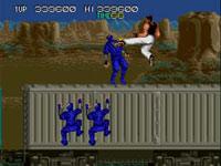 Bad Dudes vs. Dragon Ninja screenshot from Data East Arcade Classics