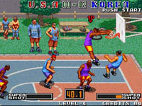 Street Hoop screenshot from Data East Arcade Classics